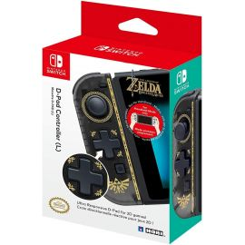 Used Like New Official Nintendo Licensed D-pad Joy-Con Left Zelda Version for Nintendo Switch