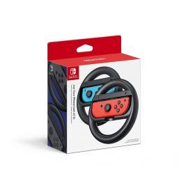 Used Nintendo Joy-Con Wheel (Set of 2) - Black - Nintendo Switch