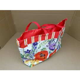 Women's Floral Canvas Tote Shoulder Bag Handbag for Shopping Beach Travel