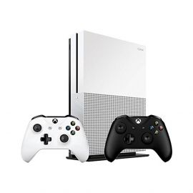 Xbox One S 1TB Bundle (3 items): Xbox One S 1TB Console with White Xbox Wireless Controller and an Extra Pair of Xbox Wireless Controller Black