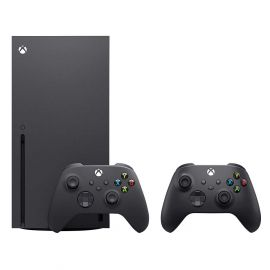 Xbox Series X with Two Wireless Controller - Black 2020 Version