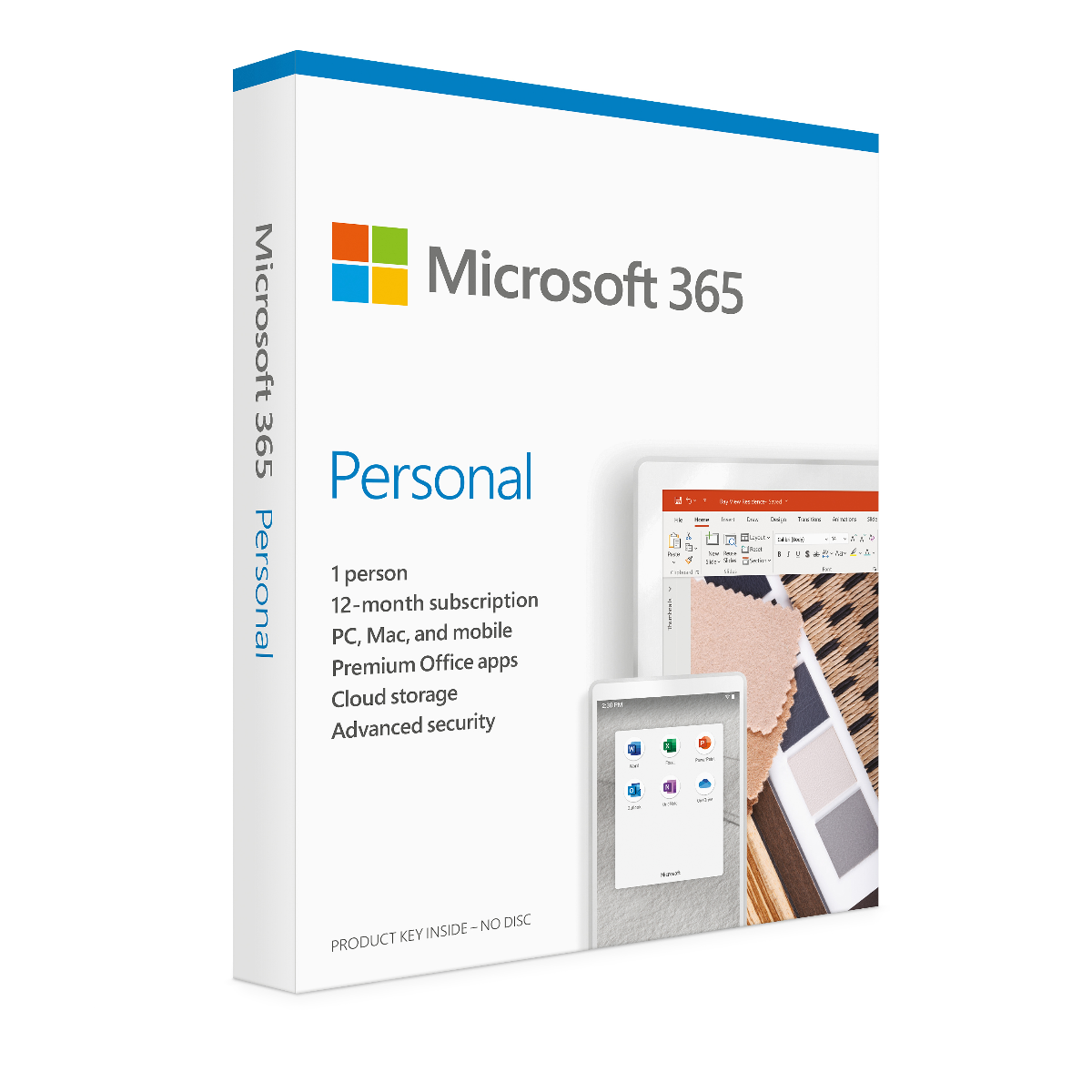 Microsoft Office 365 Personal 1 Year PC and Mac