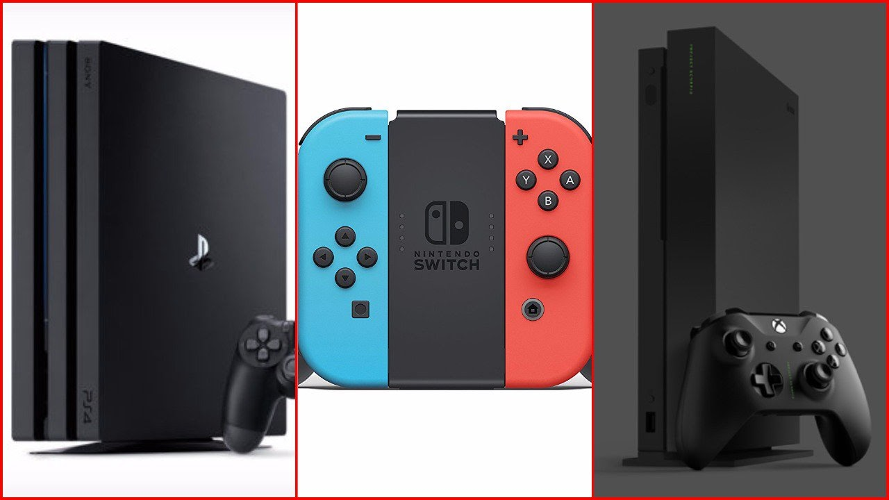 For Game fan, You need to know: Playstation 4 vs. Xbox One vs. Nintendo Switch